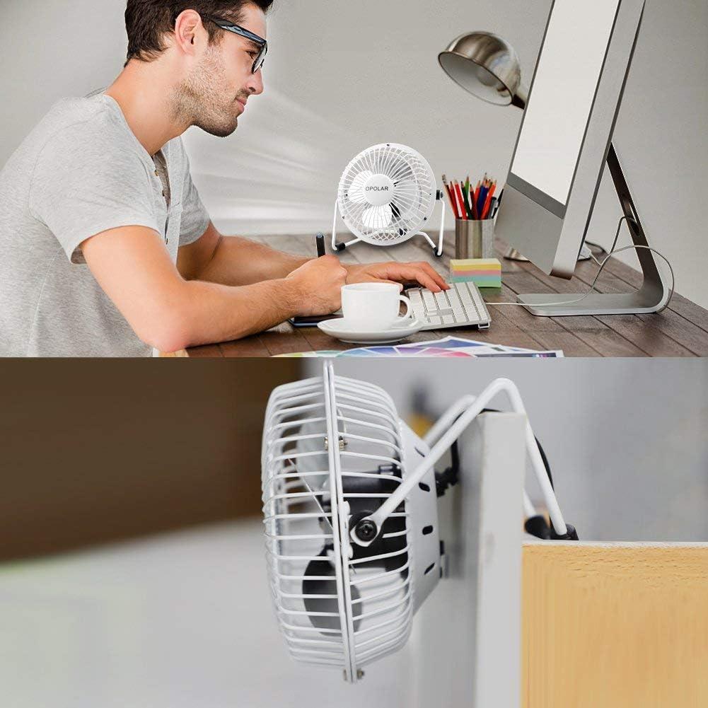 USB Fan Mini Portable Desktop Cooling Desk Quiet Fan Computer Laptop PC MAC Book