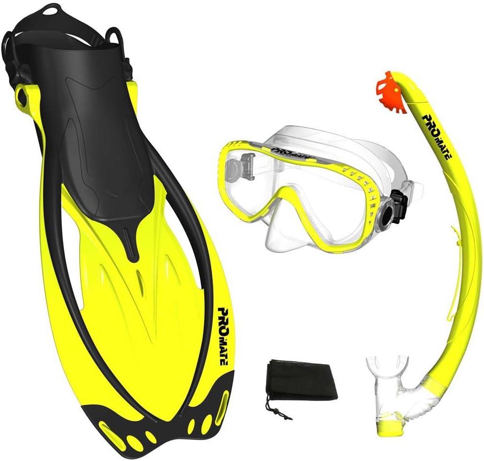 4. SourcePromate Snorkeling Set Source