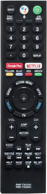 New RMF-TX310U RMF-TX220U Remote Control for Sony TV XBR-65A9F XBR-65Z9F XBR-75Z9F XBR55A8F XBR55A9F XBR65A8F XBR65A9F XBR65Z9F XBR75Z9F XBR-55A8F XBR-55A9F XBR-65A8F