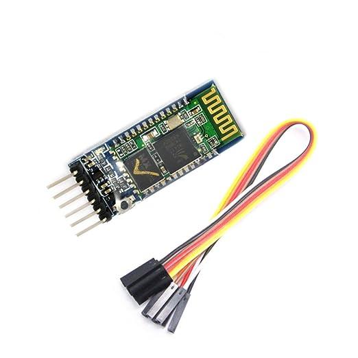5 opinioni per WINGONEER HC-05 Bluetooth ricetrasmettitore modulo slave e master RS232 con 6