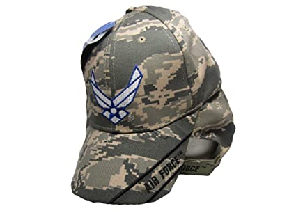 U.S. Air Force Wings ACU Digital Camo Embroidered Cap Hat Licensed (ACU  1) 50dd59f41007
