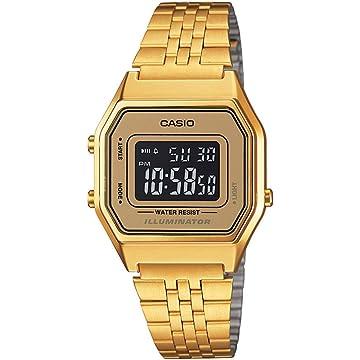 Casio LA-680WGA-9B – Clock with Quartz Movement, for Women, Gold