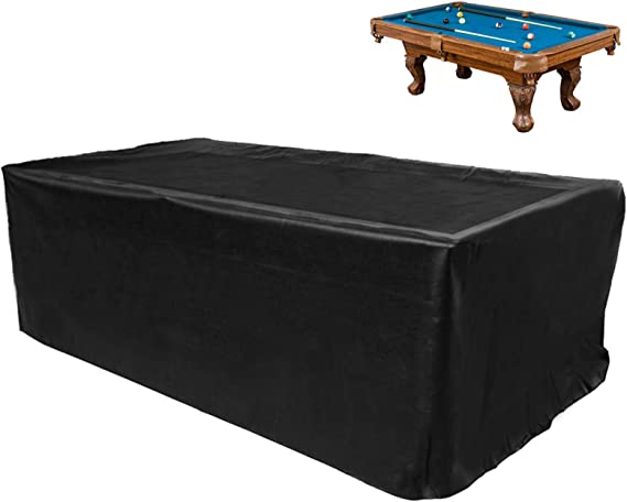 250cm x 140cm 8Ft Silver Dust-proof Billiards Snooker Pool Table Dust Cover *