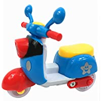 Samdivi Bright Color Scooter - Push and Go Toy (Multi Color)