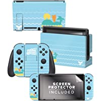 Controller Gear Authentic and Officially Licensed Animal Crossing: New Horizons - Whale Tales Nintendo Switch Skin…