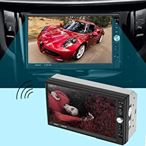 MP5 Player, Hands-Free Song Storage, HD Player for car