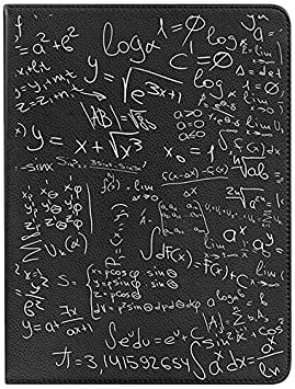 BeCool Funda Tipo Libro para bq Aquaris M10 - Carcasa giratoria 360 Grados con función Soporte, Diseño Fórmulas Matemáticas