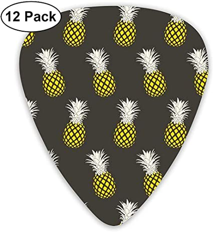 Pineapples - Púas de guitarra clásicas (12 unidades) para guitarra ...