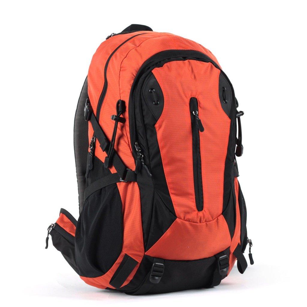 GYZ Borsa da Alpinismo all'aperto Impermeabile di Grande capacità Sport Equitazione Zaino da Trekking Uomini e Donne (colore   arancia)