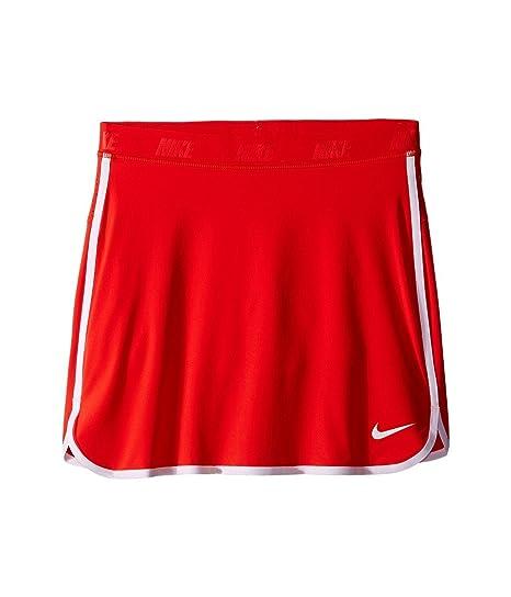 Nike GirlS Skort - Falda para niña, Color Rojo/Plata, Talla XS ...