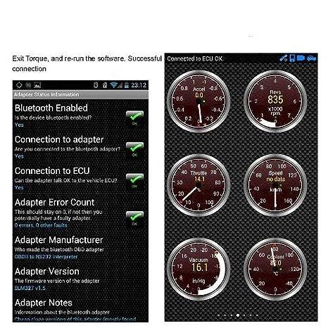 GadgetGuru Super Mini elm327 Bluetooth OBD2 OBD II Scanner ELM 327  Bluetooth Smart Car Diagnostic Interface