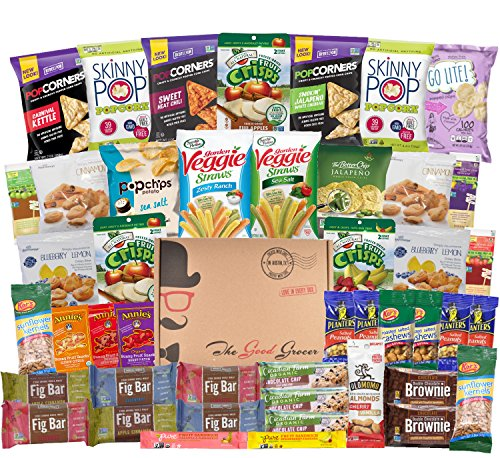 Healthy Snacks Care Package (45 Count) by The Good Grocer