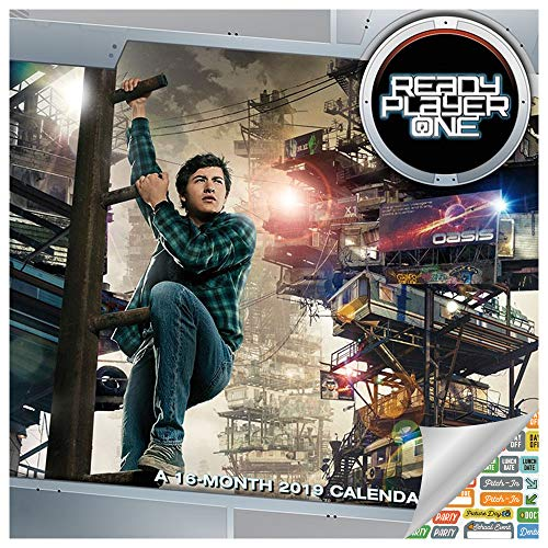 (Ready Player One Calendar 2019 Set - Deluxe 2019 Ready Player One Wall Calendar with Over 100 Calendar Stickers (Ready Player One Gifts, Office Supplies))