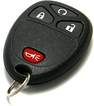 FikeyPro Remote Key Fob fits Buick Cadillac Chevrolet GMC 4-Button PN:15913421 OUC60270
