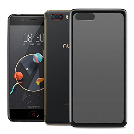 outlet store 8537e 71ed7 RIFFUE Nubia M2 Case, Ultra Soft TPU Flexible Thin Clear Silicone ...