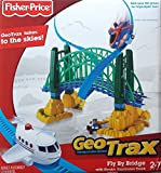 NEW Fisher Price GeoTrax Fly-By Bridge w/ GeoAir Expansion Track N1451