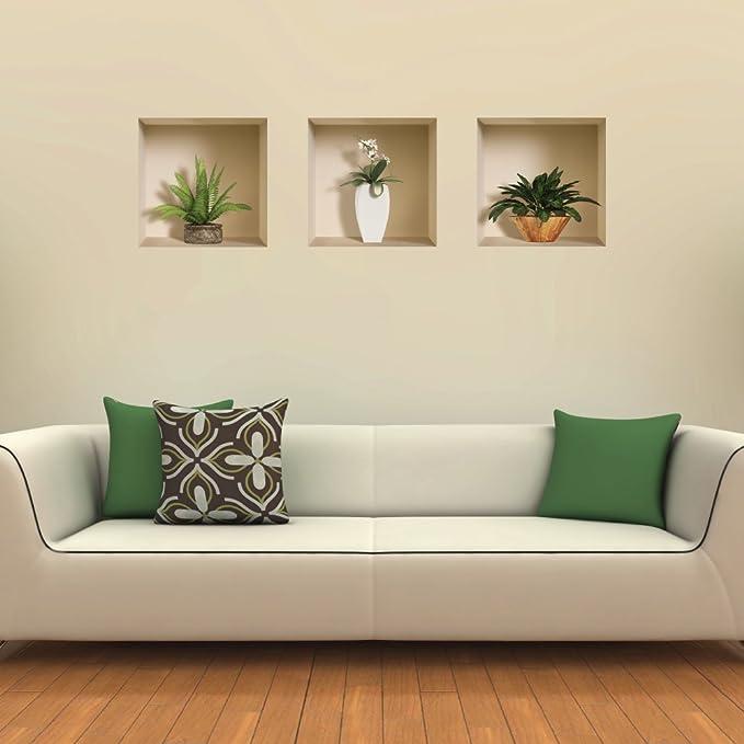 4 by 4-Inch Rikki Knight Flamingo Design Art Ceramic Tile