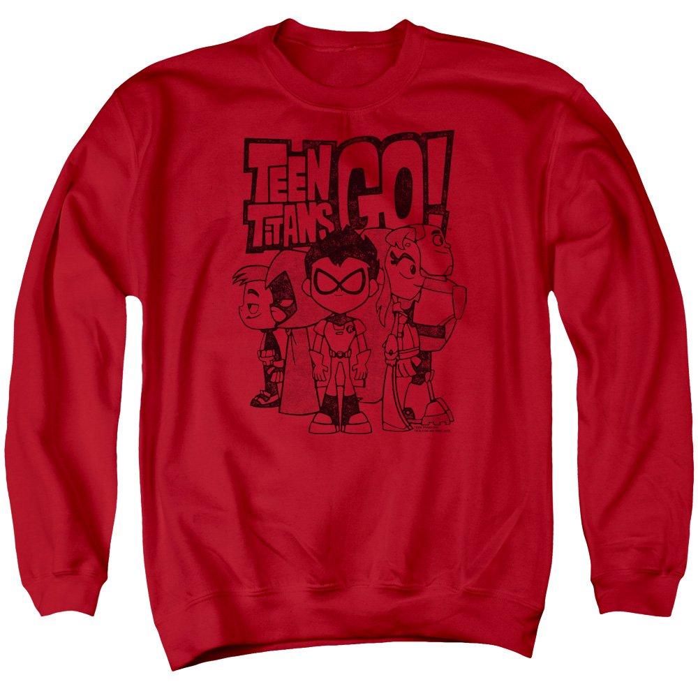 Dc Comics Teen Titans Go - Men's Team Up Sweater