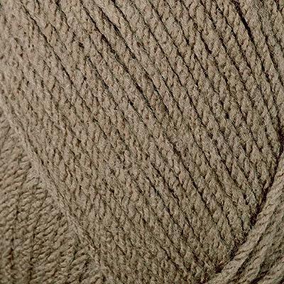 Mary Maxim Starlette Yarn - Warm Brown - 100% Ultra Soft Premium Acrylic  Yarn for Knitting and Crocheting - 4 Medium Worsted Weight