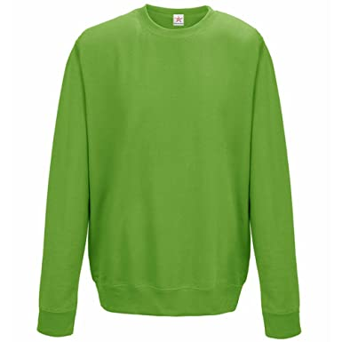 a889f099 Plain Lime Green Sweatshirts, crew neck sweatshirt Small (ALL Sizes) plus 1  T
