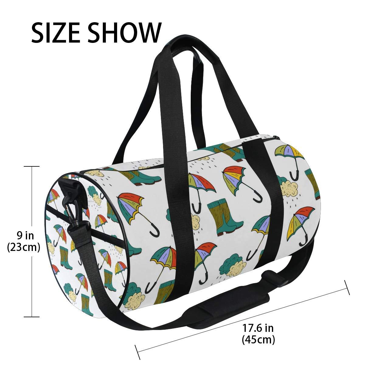 Rain Boots UmbrellaWaterproof Non-Slip Wearable Crossbody Bag fitness bag Shoulder Bag