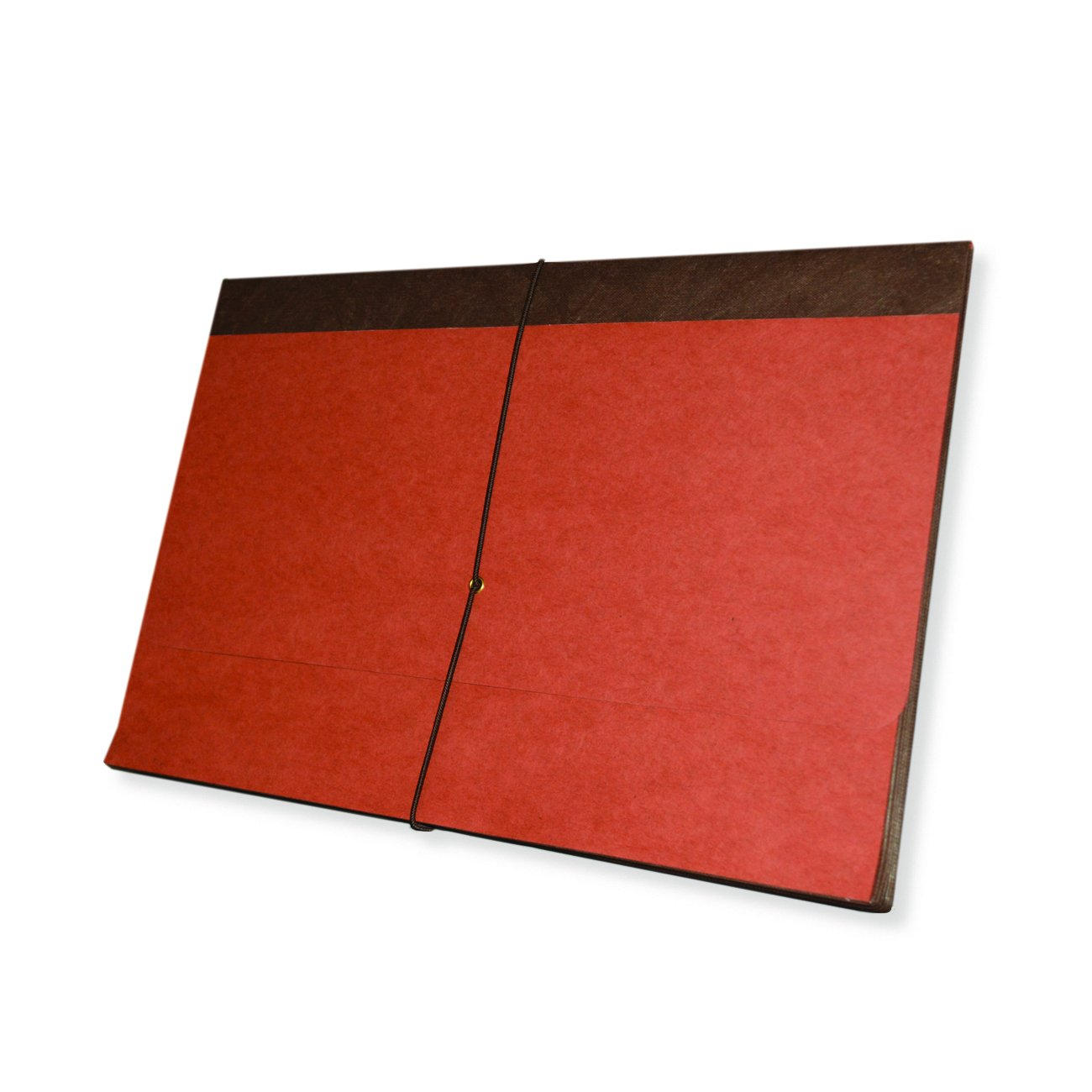 Redweld Expanding Wallet, Legal Size with 5 1/4'' Fully Reinforced Tyvek Expansion, Elastic Tie Closure, 50 per Carton