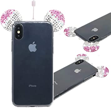coque iphone xr transparente strass