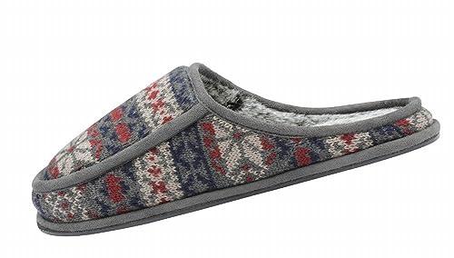 Dunlop - Zapatillas de Estar por casa de Tela para Hombre: Amazon.es: Zapatos y complementos