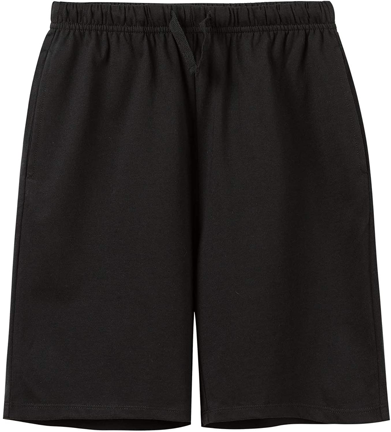 Age 3-12 Years UNACOO Unisex Kids 2-Pack 100/% Cotton Shorts for Boys and Girls