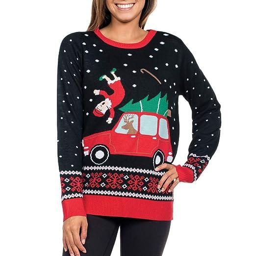Amazoncom Clearance Forthery Christmas Sweater Women Reindeer