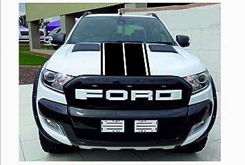 Supersticki Ford Ranger Haubenstreifen Viperstreifen