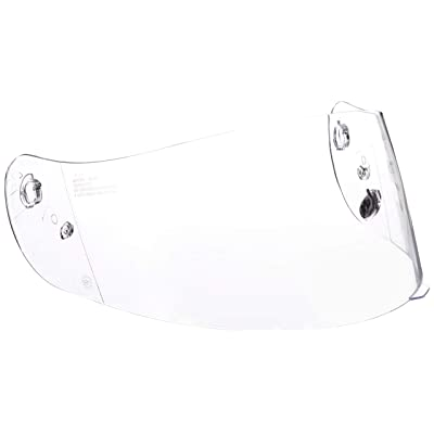 HJC Helmets HJ-09 Unisex-Adult Anti-Scratch Replacement Face Shield (Clear, One Size): Automotive