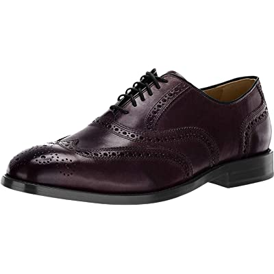 Amazon.com | Cole Haan Men's Kneeland Wing Tip Brogue Oxford | Oxfords