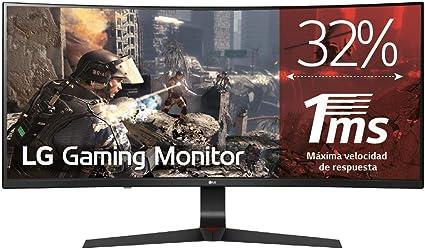 LG 34GL750-B - Monitor Gaming Curvo UltraWide WFHD de 86.7 cm (34 ...