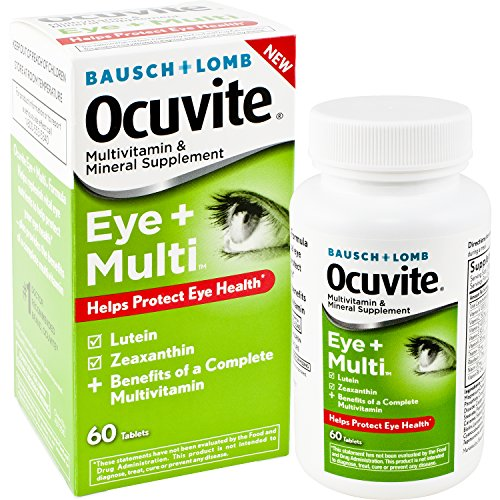 Ocuvite Multivitamin Supplement Zeaxanthin antioxidants