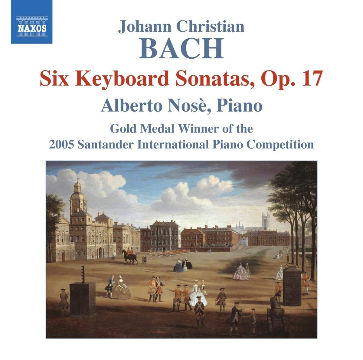 Seis Sonatas Para Teclado Op.17- A.Nose-