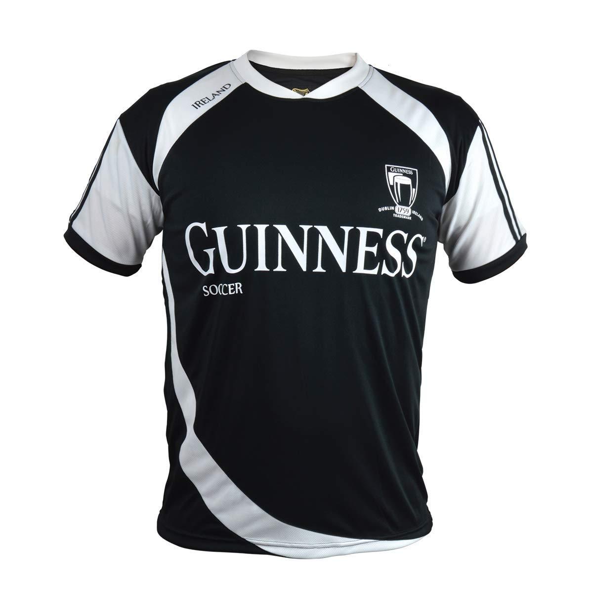 Black Guinness Soccer Jersey Medium