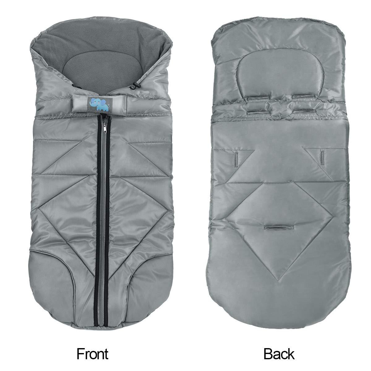 Amazon.com: Saco de dormir para bebé, impermeable, universal ...