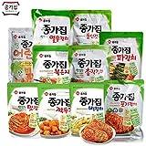 【冷蔵便】宗家 キムチ 3種 セット 1袋 500g x 3袋 白菜キムチ + ヨルムキムチ + チョンガクキムチ 韓国 食品 食材 料理