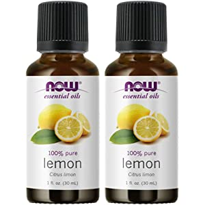 Now Foods Lemon Oil 1 ounce (Pack of 2)