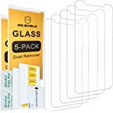 [5-PACK]- Mr Shield For iPhone X / iPhone 10 [Tempered Glass] Screen Protector [0.3mm Ultra Thin 9H Hardness 2.5D Round Edge] with Lifetime Replacement Warranty