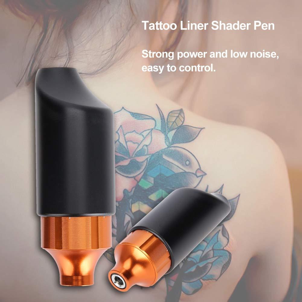 Pluma del tatuaje de 3 colores, pistola profesional del tatuaje de ...