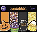 Wilton 4-Pack Halloween Sprinkles Set