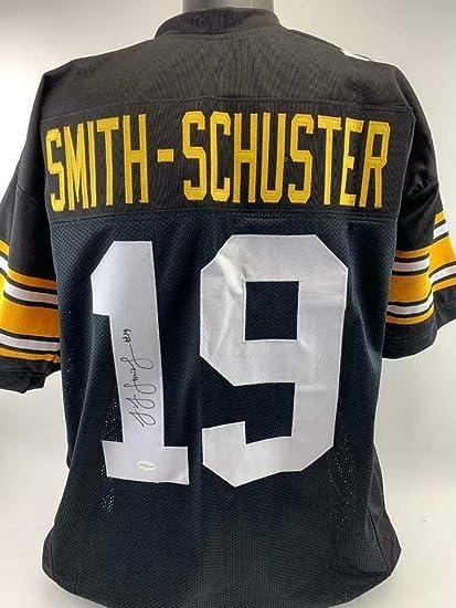 good 6b14f 360f8 JuJu Smith-Schuster Signed Jersey - Custom TSE COA ...
