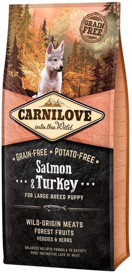 Carnilove Carnilove Salmon & Turke Large Puppy - 12 Kg