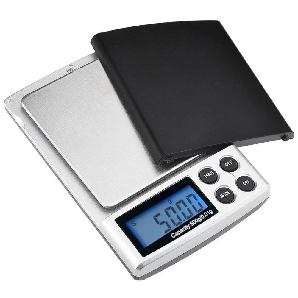 MKChung Digital Scales, High Precision Pocket Mini Scales for Jewellery Kitchen Food