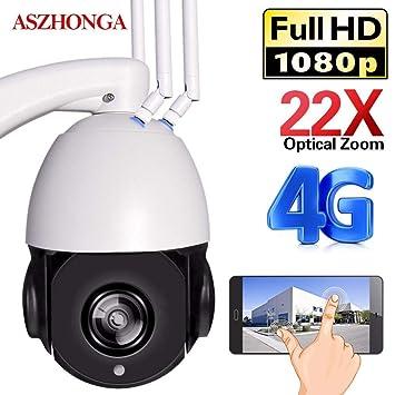 3G 4G 1080P WiFi IP CCTV Cámara de Seguridad PTZ Speed Dome ...