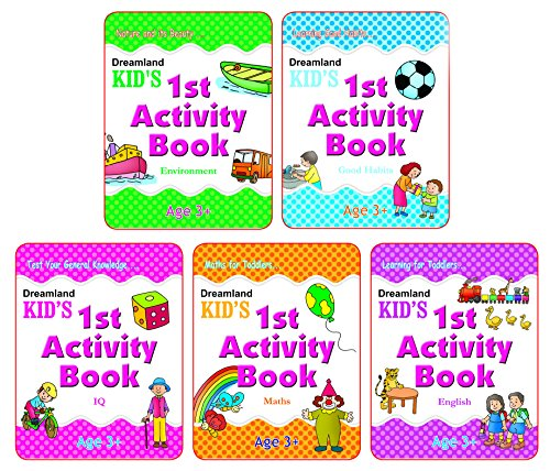 Kid's 1st Activity Age 3+ – Pack (5 Titles)