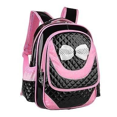 f6832deaaf03 Zhuhaitf Lovely Girls Ultralight Students Kids PU Bags Waterproof Bookbag  for kids