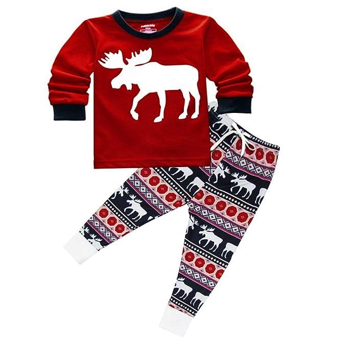 Conjunto De Pijamas Familiares De Navidad Familia Juego Homewear